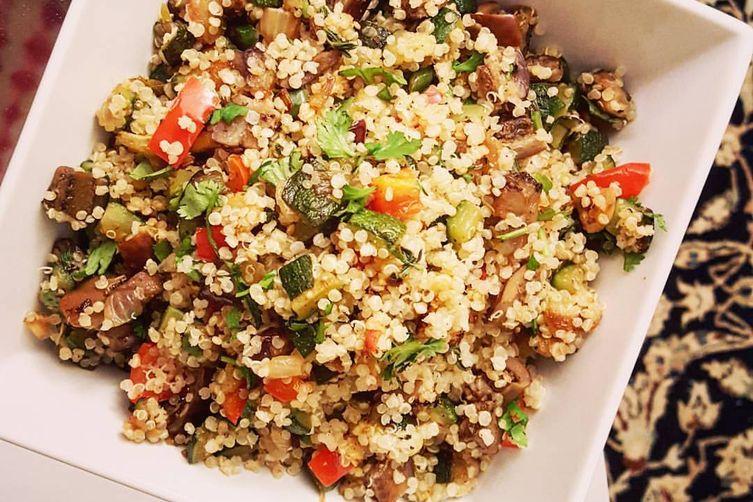 Roasted Veggie Quinoa Medley