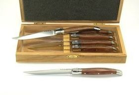 Laguiole Rosewood Handle Knives