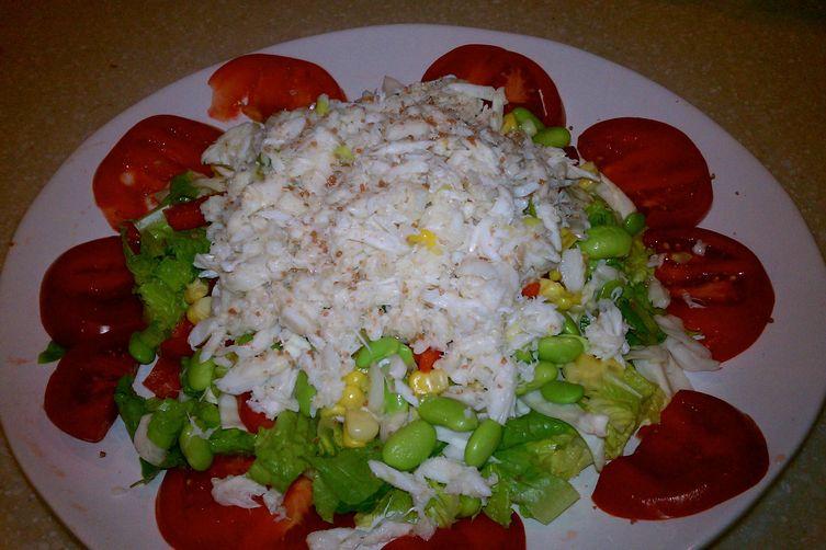Refreshed Crabmeat Ravigote