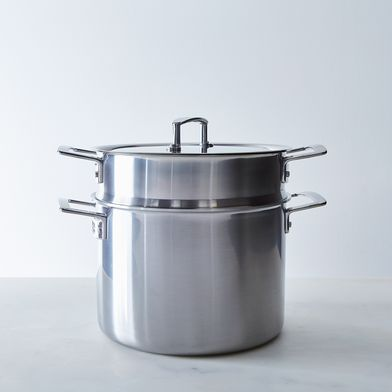 Zwilling Aurora 5-Ply Stainless Steel Stockpot with Lid, 8QT