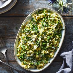 We Can't Get Our Forks Away from This Creamy Asparagus Pasta