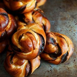 Swirl Chocolate Buns