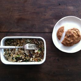 A Grain Salad Cut Out for Weekday Lunch
