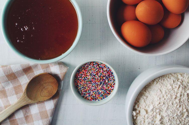 "Struffoli ""Christmas Fritters"" are Fried, Honey-Glazed & Sprink..."