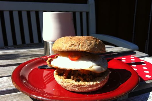 Breakfast Sloppy Joe