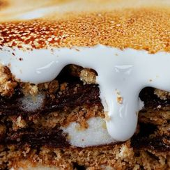 Faith Durand's S'Mores Pudding Cake