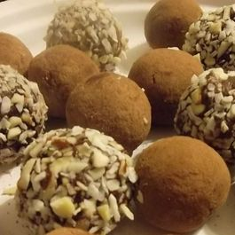 Vegan Coconut Almond Truffles