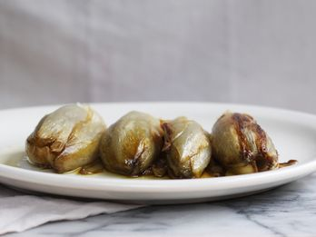 Braised Belgian Endives (Indivie Intere a Crudo)