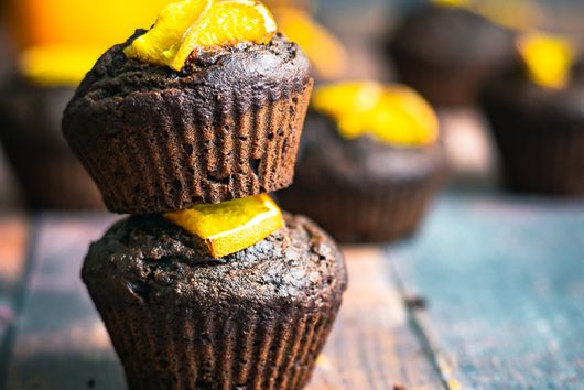 Vegan Chocolate Orange Muffins