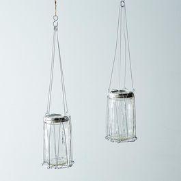 Mason Jar Hanging Wire Lantern