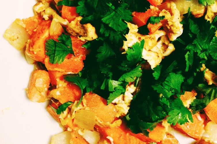Comforting Sweet Potato Hash