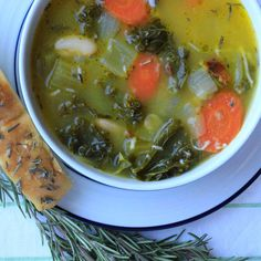 Tuscan White Bean and Kale Soup