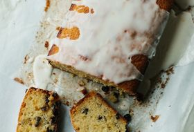 Currant Orange Marmalade Tea Cake