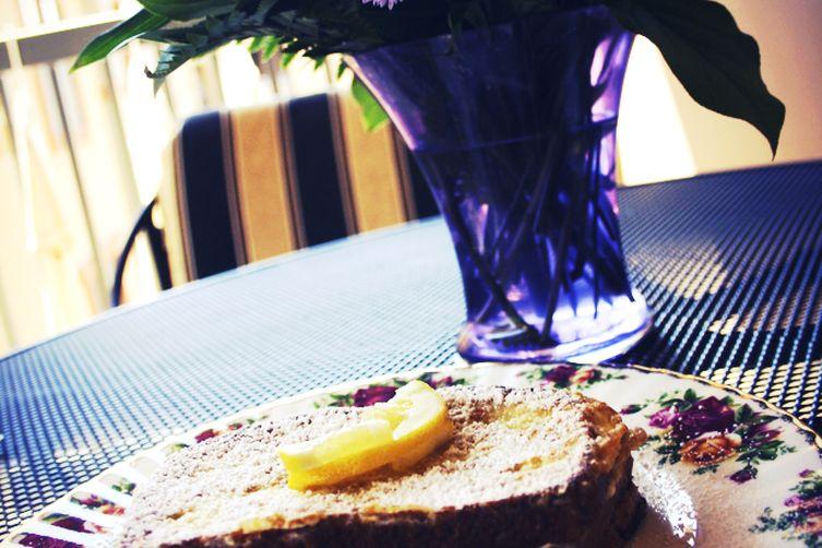 "Lemon ""Français"" Toast"