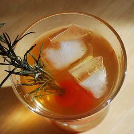 Grilled Rosemary Sazerac