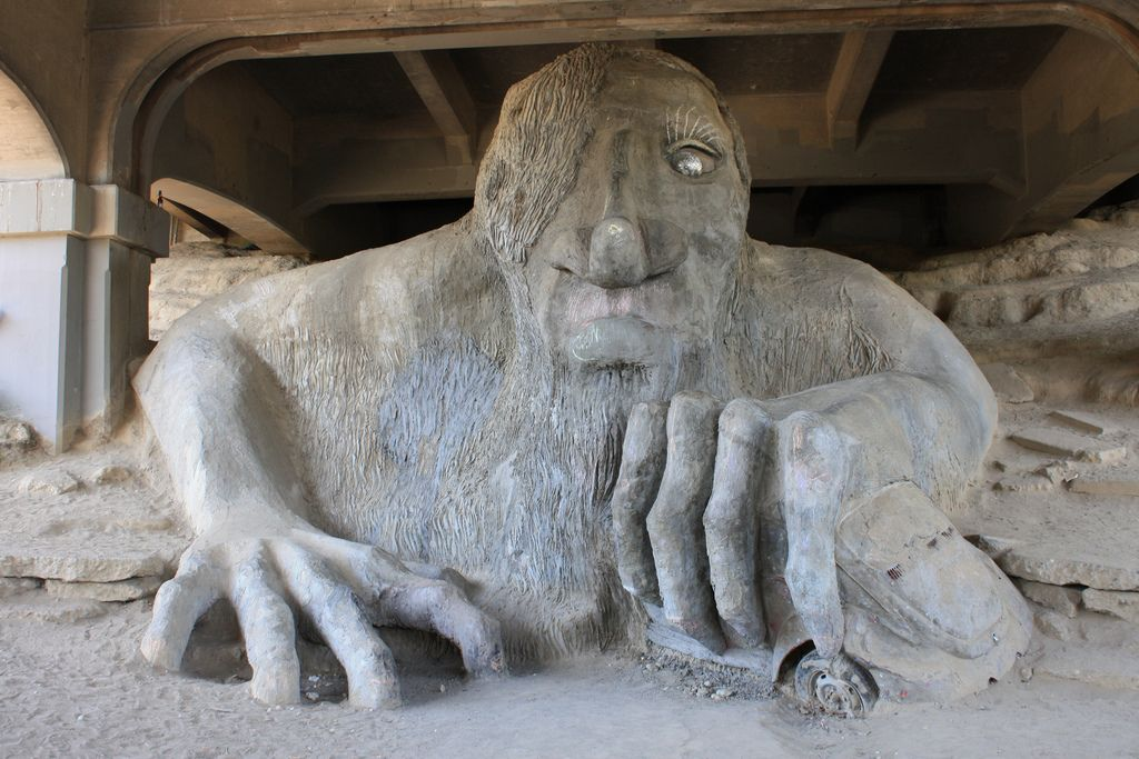 Fremont Troll, David Herrera via Flickr