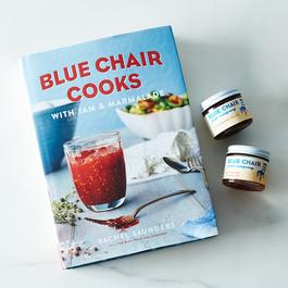 Blue Chair Signed Cookbook with Fig and Tomato Jams
