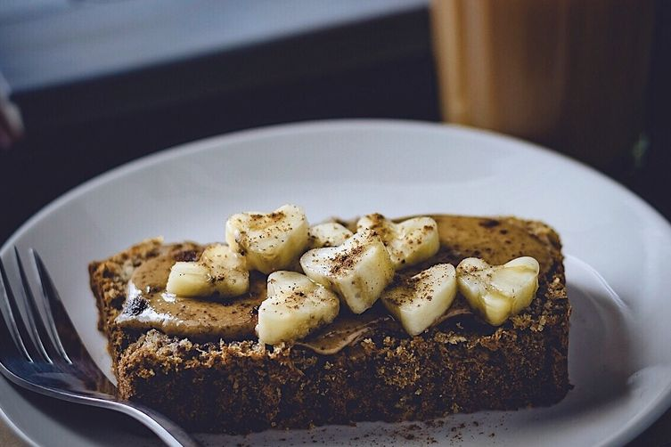 Gluten Free & Refined Sugar Free Banana Bread