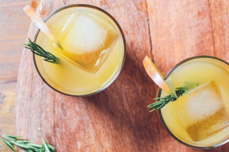 Rosemary Mezcal Apple Cider