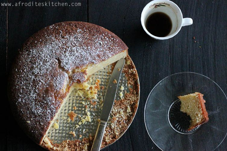 Brandy-Orange New Year's Cake (Vasilopita)