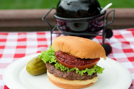 Beef and Tomato Burger