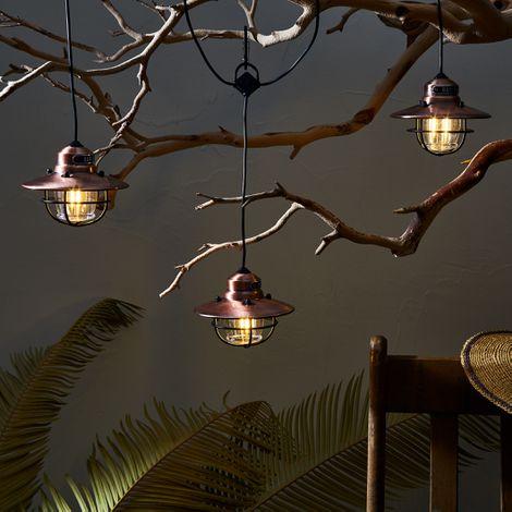 Edison String and Pendant Light