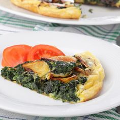 Spinach and Artichoke Frittata