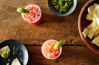Strawberry Margarita On The Rocks Recipe On Food52