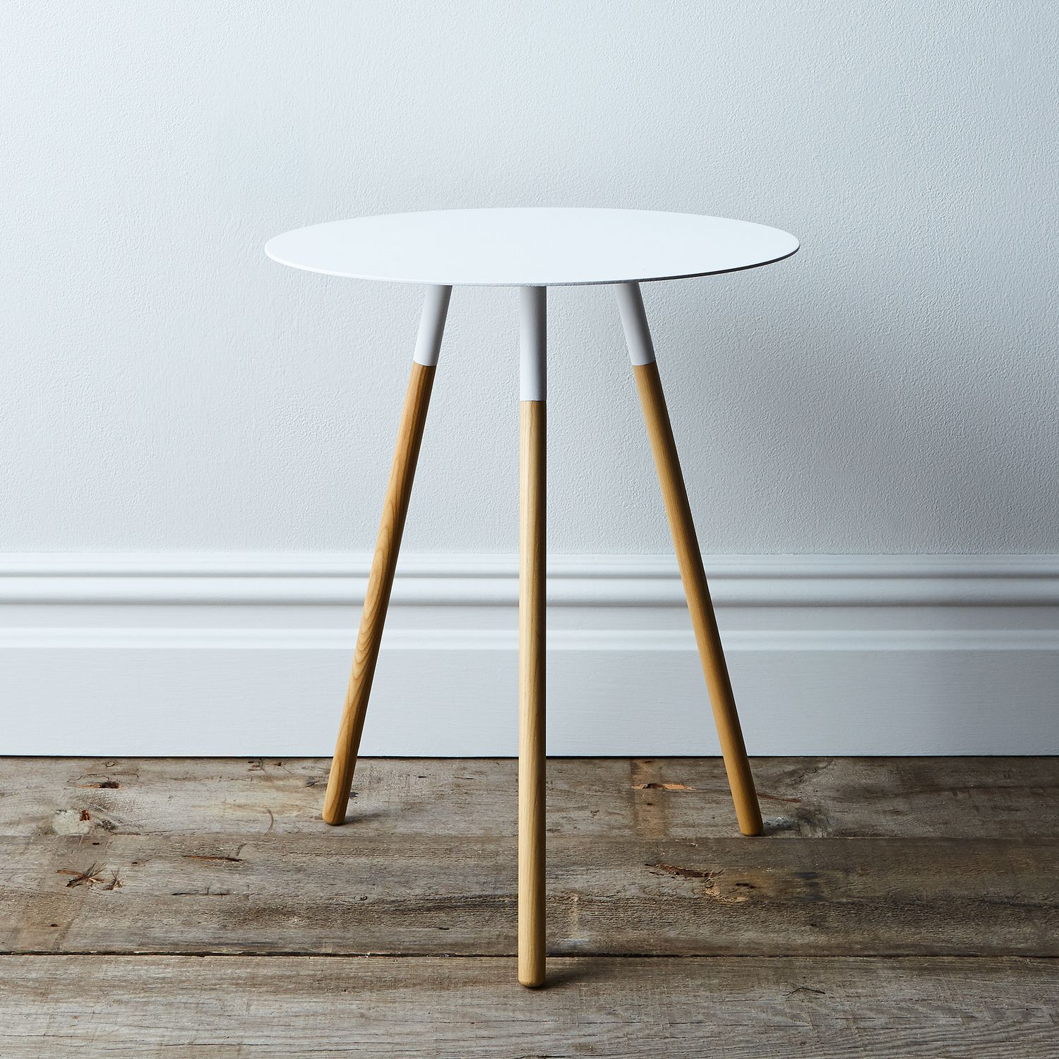 Steel wood round side table on food52 for Table 52 2016
