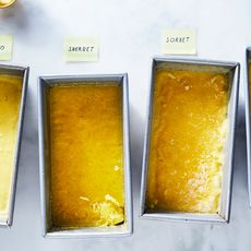 No-Churn Mango Sherbet (Sorbet, Frozen Yogurt, or Ice Cream!)