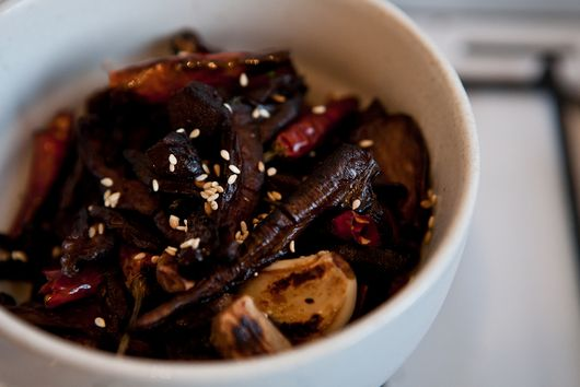 Sichuan Stir-fry Tea Tree Mushrooms