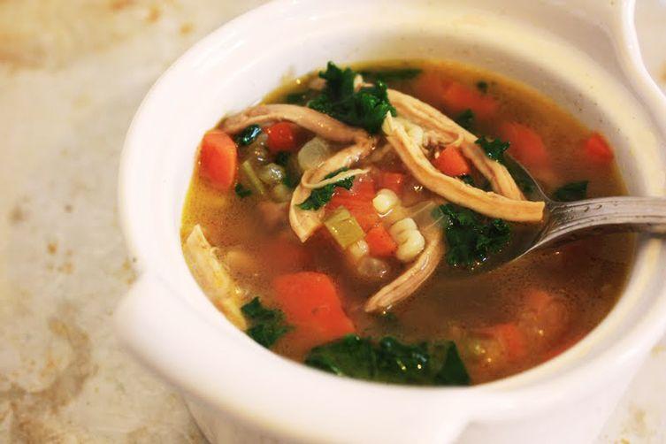 A Mother's Chicken Noodle Soup