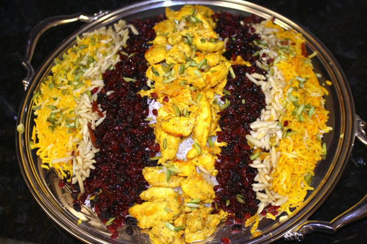 Jeweled Rice (Iranian / Persian Morausa Polo)