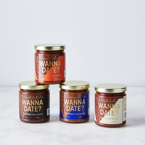 All-Natural Date Spread Sampler