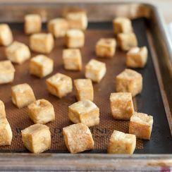 Baked Cilantro Tofu