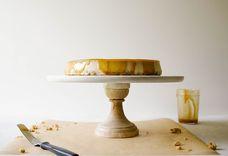 Brown Sugar Cheesecake with Oatmeal Cookie Crust