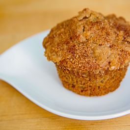 Banana-Cranberry Crumb Muffins with Streusel Topping