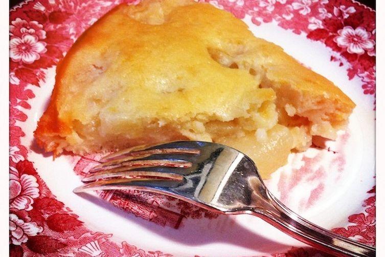 Marguerite d'Anjou Pear Cake