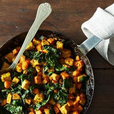 Sweet Potato Tempeh Hash