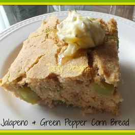 Jalapeno & Green Pepper Corn Bread