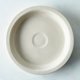 "British Porcelain 11"" Pie Plate"