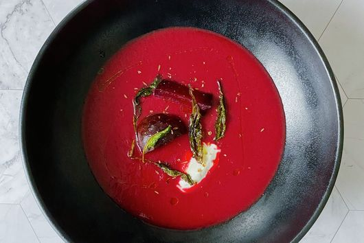 Warm Beet Soup