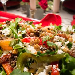Crowd-Pleasing Mediterranean Salad