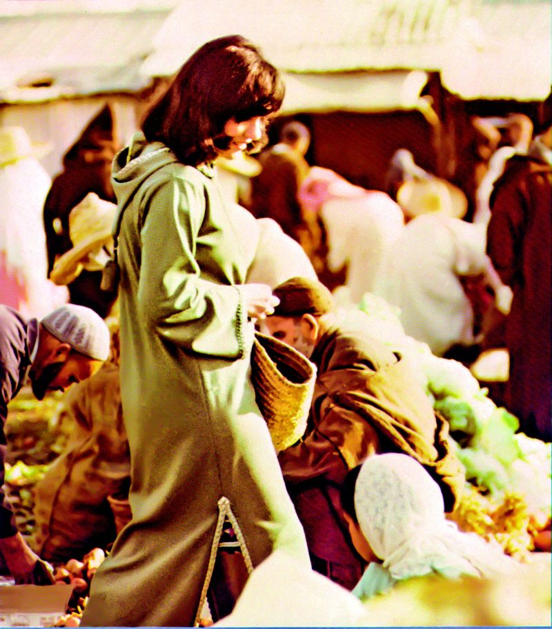Paula in Morocco. Courtesy William Bayer and the personal collection of Paula Wolfert.