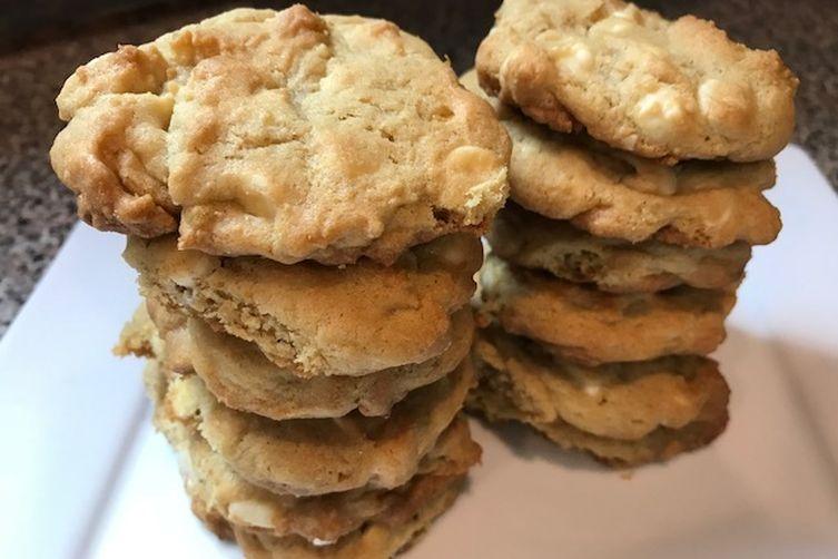 White Chocolate Chip & Macadamia Nut Cookies