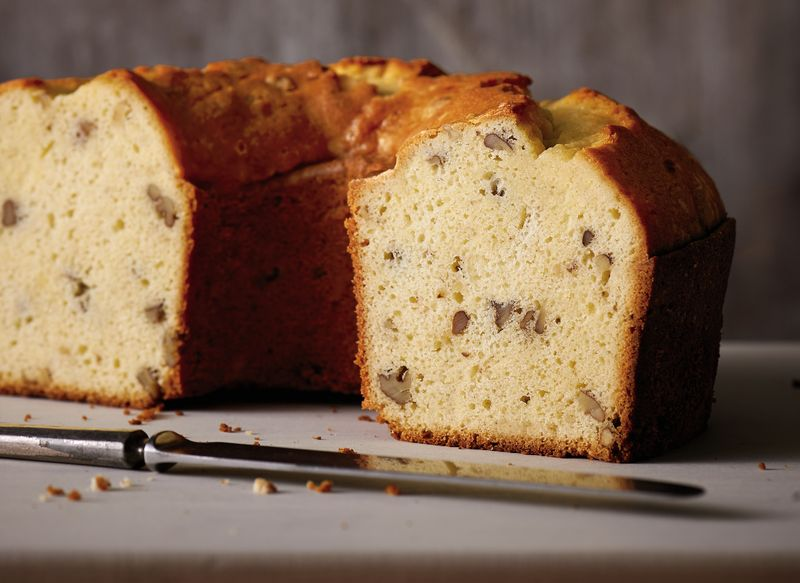 Sarah Polk's Hickory Nut Cake