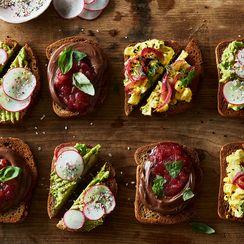 Avocado + Everything Bagel Spice Smørrebrød