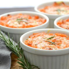 twice-baked sweet potato gratin