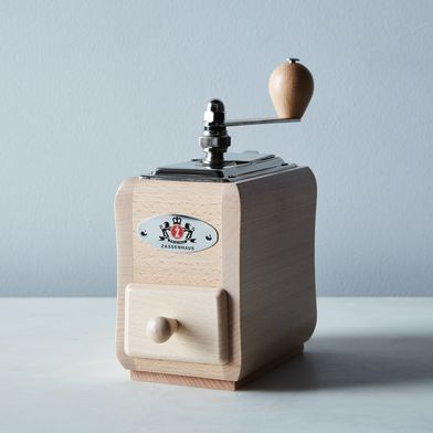 Natural Beechwood Coffee Grinder