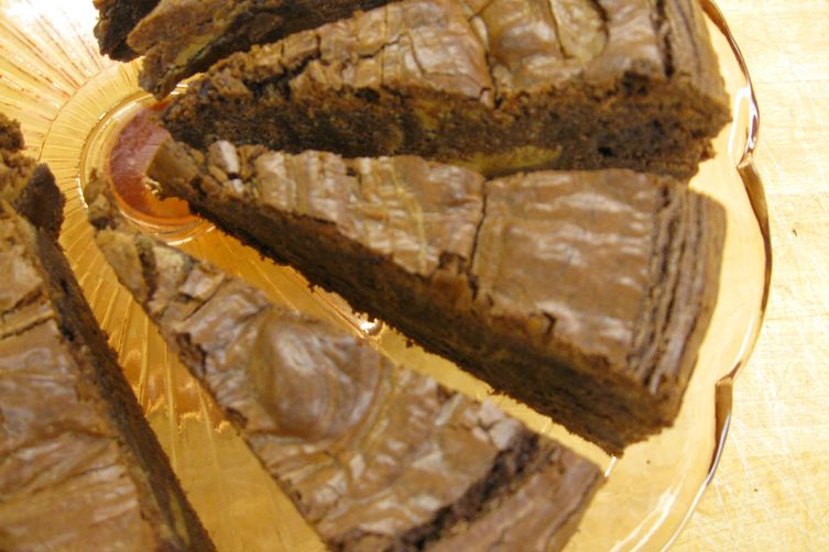 Chocolate to the Power of 4 Brownies (With a Healthy Option)